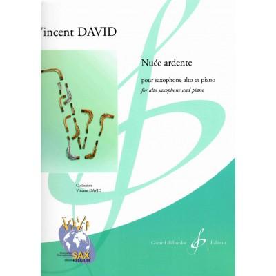 BILLAUDOT VINCENT DAVID - NUÉE ARDENTE - SAXOPHONE ALTO ET PIANO