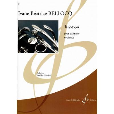 BILLAUDOT BELLOCQ IVANE BEATRICE - TRIPTYQUE - CLARINETTE