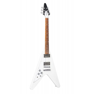 GIBSON LINKSHAENDER FLYING V T 2017 ALPINE WHITE