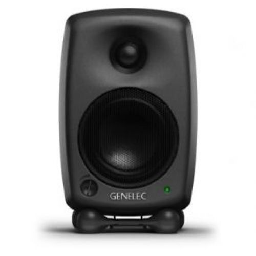 GENELEC MONITOR SPEAKER BI- AMPLIFIED . 20 W + 20 W GREY 8020CPM
