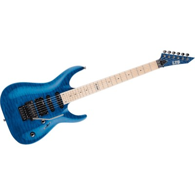LTD GUITARS MH 103 QUILTED MAPLE BLUE