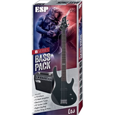Electric bass guitar packs