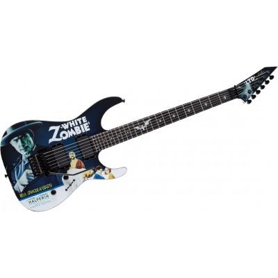 LTD GUITARS SIGNATURE KIRK HAMMETT WHITE ZOMBIE
