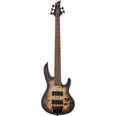 LTD GUITARS D5BP-BLKNBS BLACK NATURAL BURST SATIN
