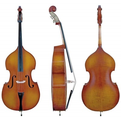 GEWA 4/4 DOUBLE BASS ALLEGRO - SOLID TOP