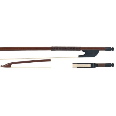 GEWA DOUBLE BASS BOW FIDDLE DISCANT- AND ALTO GAMBE BRASIL WOOD