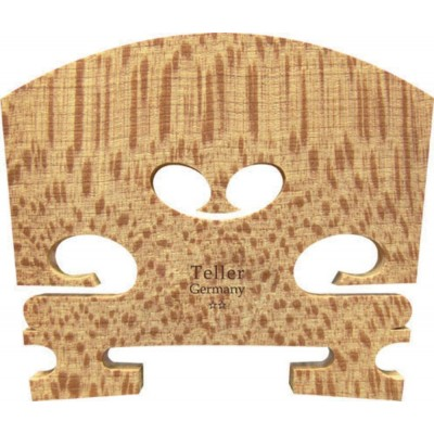 TELLER 1/2 AUBERT TRIMMED BRIDGE STANDARD VIOLIN