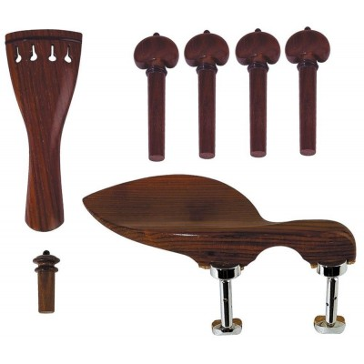 GEWA VIOLIN OUTFIT ROSEWOOD GUARNERI MODEL CHIN REST