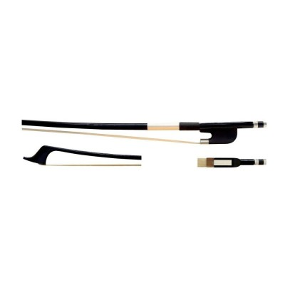 GLASSER 3/4 DOUBLE BASS BOW CARBON GRAPHIT