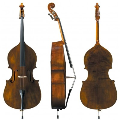 MEISTER MICHAEL GLASS 4/4 DOUBLE BASS MODEL NO. 30 5-STRING
