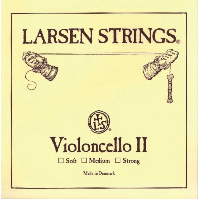LARSEN STRINGS CORDE RE 4/4 LARSEN POUR VIOLONCELLE - MEDIUM