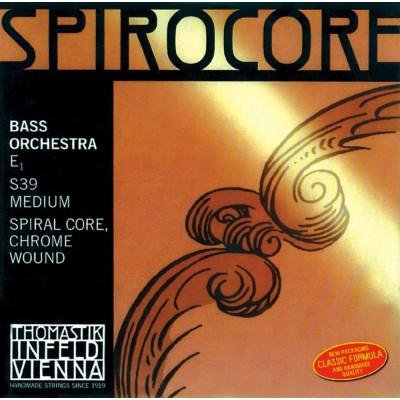 THOMASTIK STRINGS CONTRABASSES SPIROCORE SPIRAL CORE C MEDIUM S40