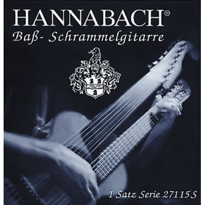 HANNABACH STRINGS VIENNESE BASS ES7 SILVER-COATED WOUND