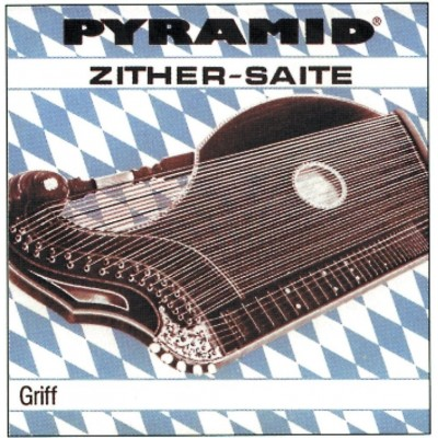 PYRAMID PYRAMID CITHARE STRINGS ZITHER TOUCH, MUNICH TUNING SET (RE BRONZE)