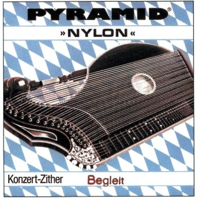 PYRAMID PYRAMID NYLON CITHARE STRINGS. CONCERT ZITHER E BEMOL 1.