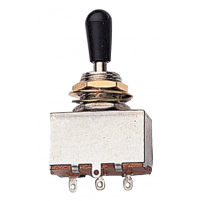 PARTSLAND TOGGLE SWITCH SWITCHES BLACK BUTTON