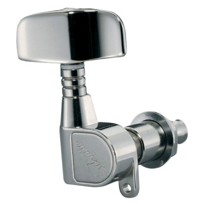 SCHALLER MACHINE HEAD M4 180 3 LEFT/ 2 RIGHT SATIN CHROM
