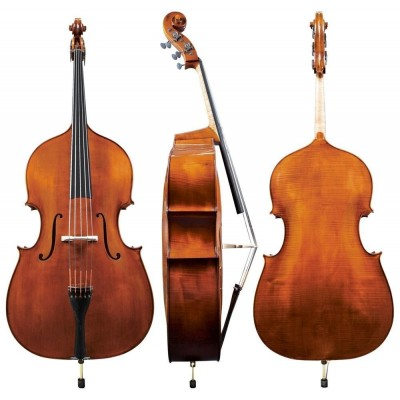 MEISTER RUBNER 4/4 DOUBLE BASS MODEL NO. 68 M