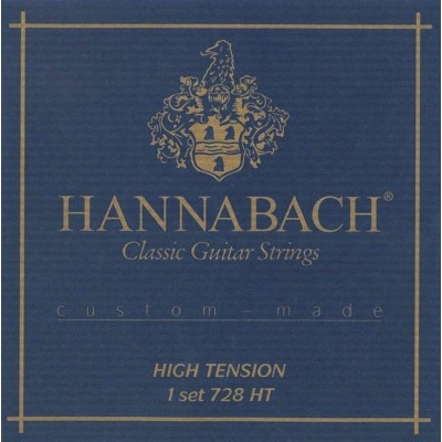 HANNABACH 728 SERIES HIGH VOLTAGE CUSTOM MADE 3 TREBLE HIGH