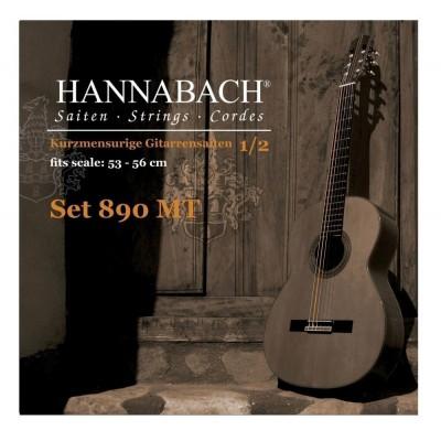 HANNABACH CLASSICAL GUITAR STRINGS SERIES 890 CHILDREN'S GUITAR 1/2 SCALE: 53-56CM G3