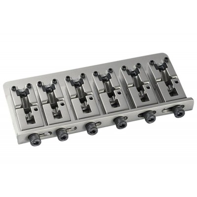 SCHALLER E-BASS BRIDGE 2000 PIEZO 6-STRING - CHROM