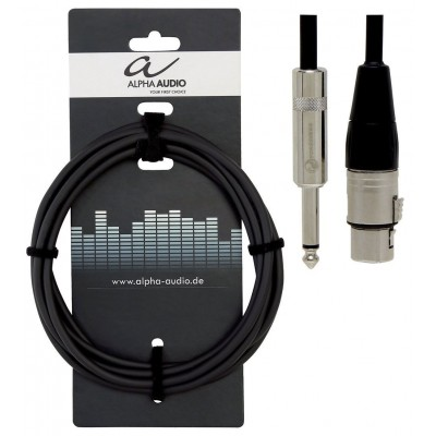 ALPHA AUDIO PRO LINE FOR MICROPHONES 9 M / QTY =5