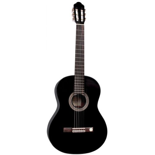 ALMERIA GUITARE BLACK SELECT 4/4 BLACK GLOSS