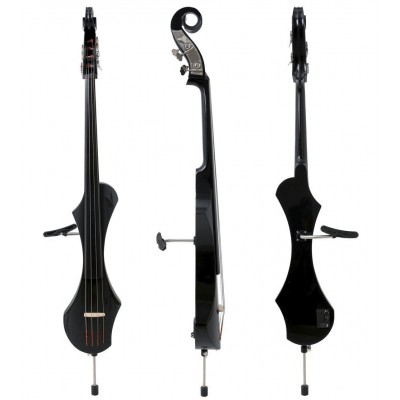 GEWA E-DOUBLE BASS NOVITA BLACK