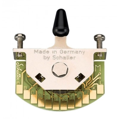 SCHALLER PICKUP ACCESSORIES MEGA SWITCH TOGGLE SWITCH - M