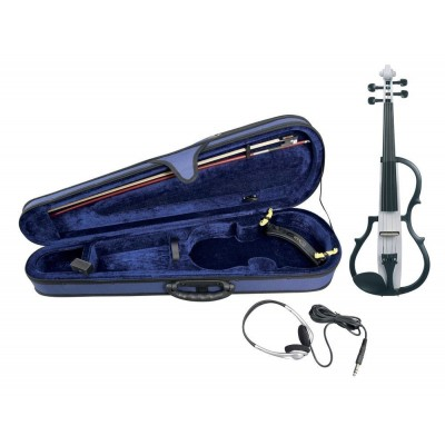 GEWA 4/4 GEWA ELECTRIC VIOLIN SET - WHITE