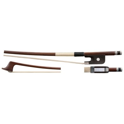 GEWA 1/2 DOUBLE BASS BOW BRASIL WOOD FRENCH