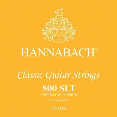 HANNABACH SERIES 800 SUPER LOW TENSION SILVER G3