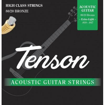 GEWA ACOUSTIC GUITAR STRING TENSON BRONZE .010-.047, EXTRA LIGHT