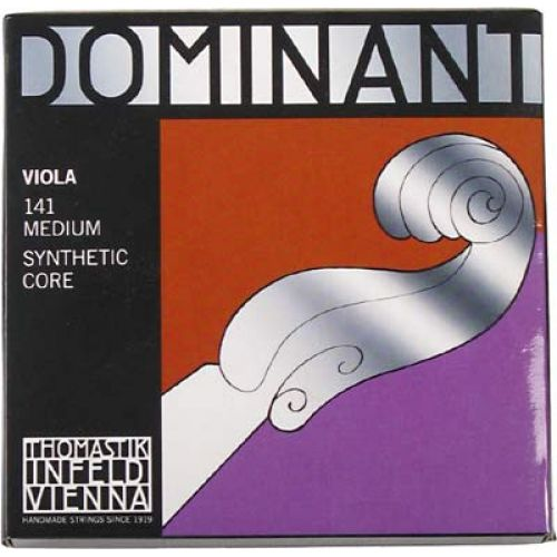 THOMASTIK 3/4 DOMINANT VIOLA SET MEDIUM TENSION 141