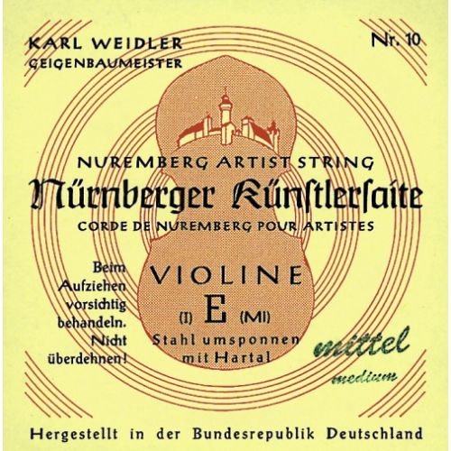 NURNBERGER 4/4 NURNBERGER KUNSTLER STRINGS FOR VIOLIN