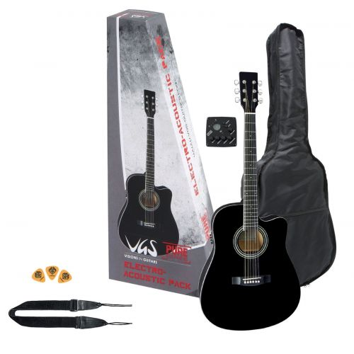 VGS GUITARE PACK BLACK