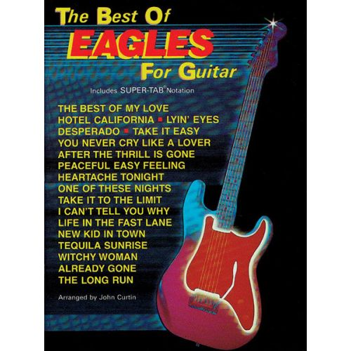 ALFRED PUBLISHING EAGLES THE - BEST OF - GUITAR TAB
