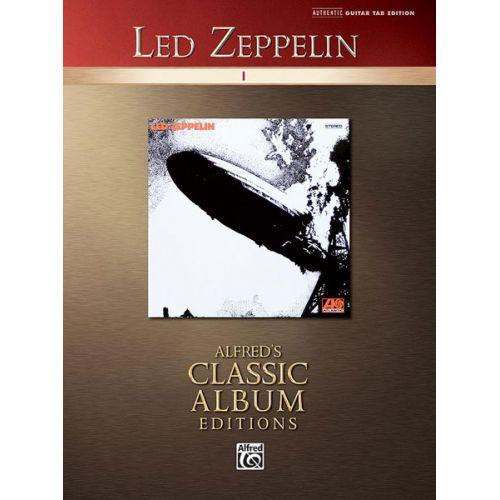 ALFRED PUBLISHING LED ZEPPELIN - I - GUITAR TAB