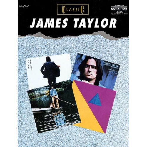 ALFRED PUBLISHING TAYLOR JAMES - CLASSIC - GUITAR TAB