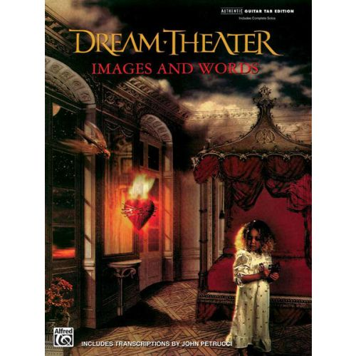 ALFRED PUBLISHING DREAM THEATER - IMAGES AND WORDS - GUITAR TAB