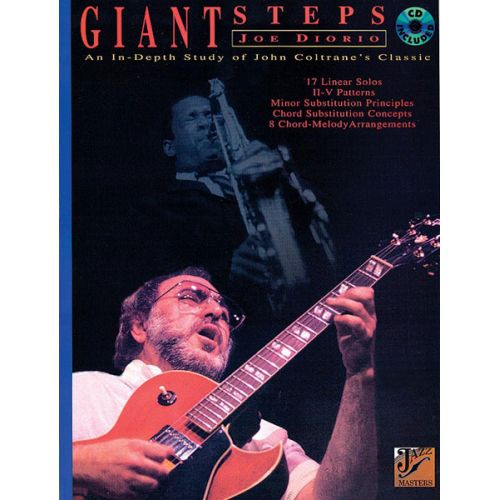 ALFRED PUBLISHING DIORIO JOE - GIANT STEPS + CD - GUITAR