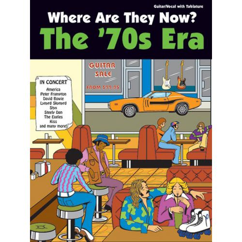 ALFRED PUBLISHING WHERE ARE THEY NOW: THE SEVENTIES - GUITAR TAB