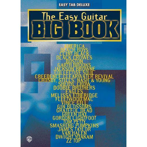 ALFRED PUBLISHING EASY GUITAR BIG BOOK - GUITAR TAB