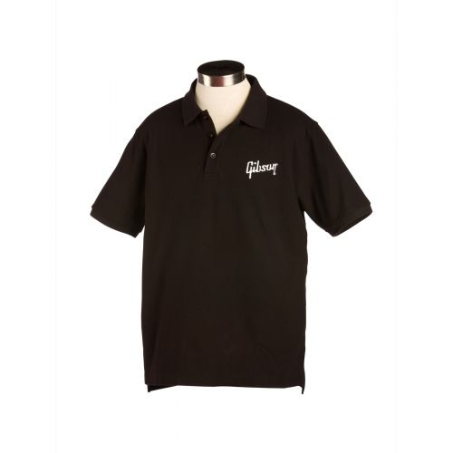 GIBSON GIBSON LOGO MEN'S POLO SMALL
