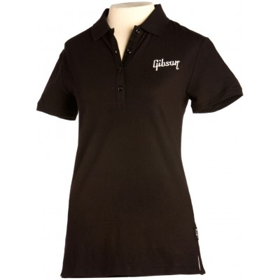 GIBSON GIBSON LOGO WOMEN'S POLO MEDIUM