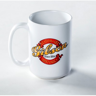 GIBSON GEAR CUSTOM MUG, 15 OZ.
