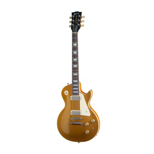 GIBSON LES PAUL LP DELUXE METALLIC 2015 GOLD TOP