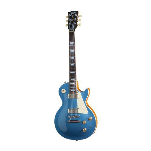 GIBSON LES PAUL LP DELUXE METALLIC 2015 PELHAM BLUE