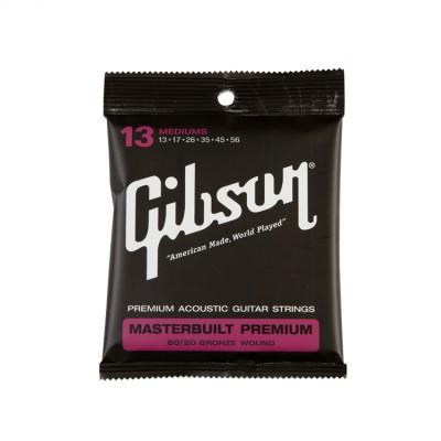 GIBSON MASTERBUILT PREMIUM 8020 BRASS .013-.056 ACOU