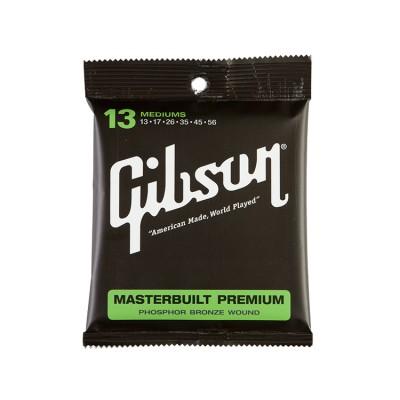 GIBSON MASTERBUILT PREMIUM ACOUSTIC STRINGS PHOSPHOR BRONZE MEDIUMS